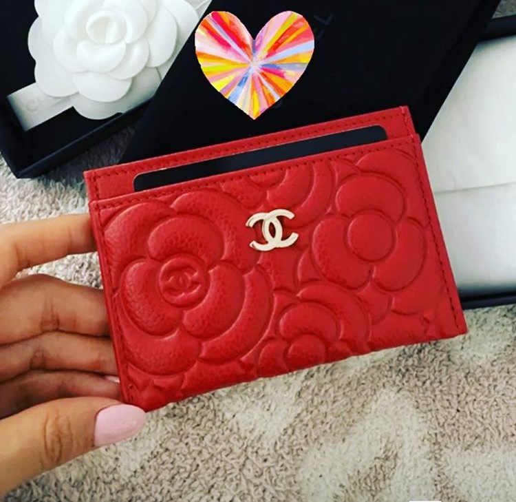 flower-chanel -card