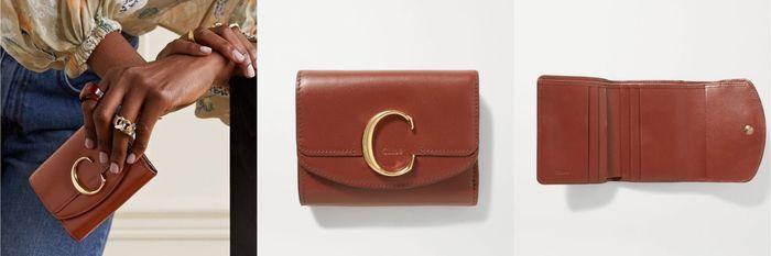 Chloé C三折錢包
