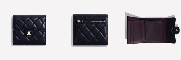 Chanel經典短夾