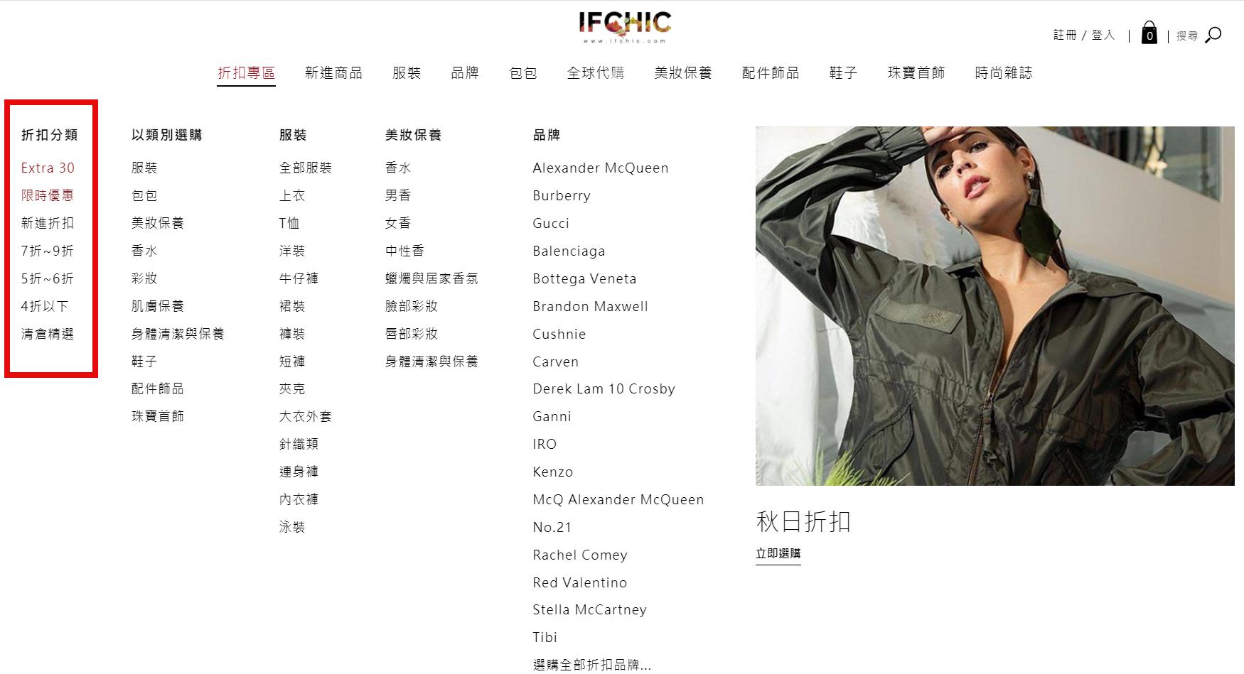 Ifchic購物教學