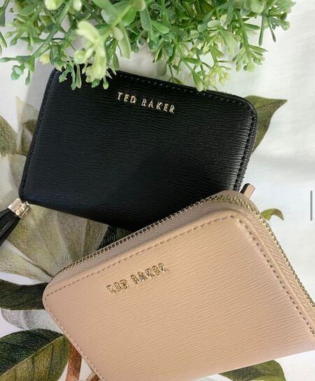 Ted Baker 拉鍊短夾