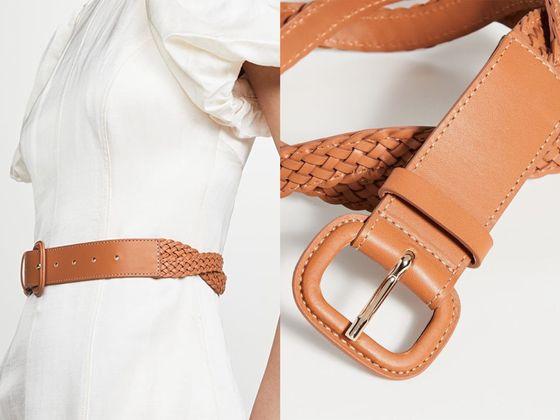 Zimmermann 編織梭織布腰帶