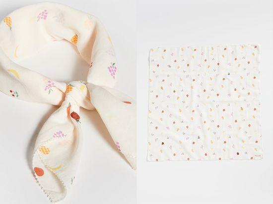 Madewell 水果刺繡邊緣手帕