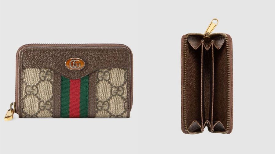 GUCCI Ophidia 拉鏈零錢包