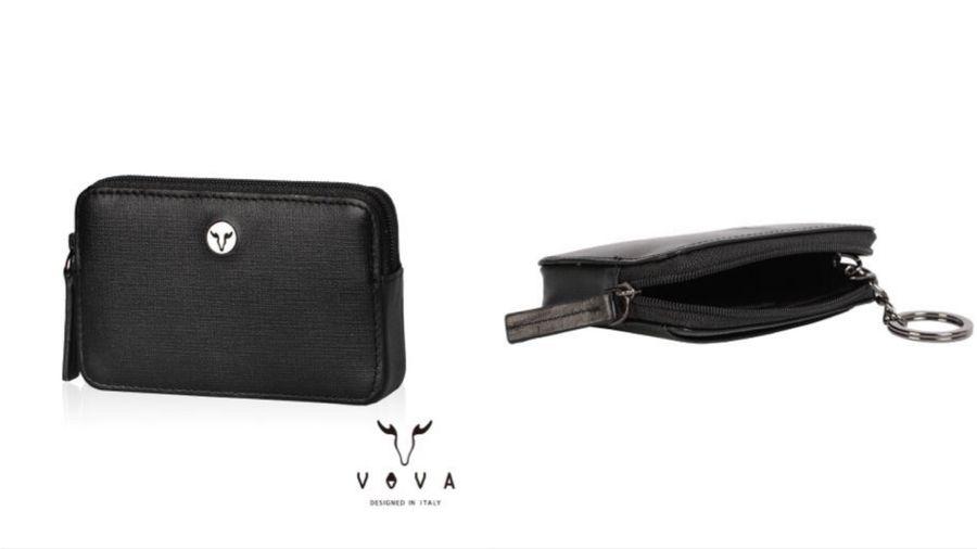 Vova系列IV紋拉鍊零錢包