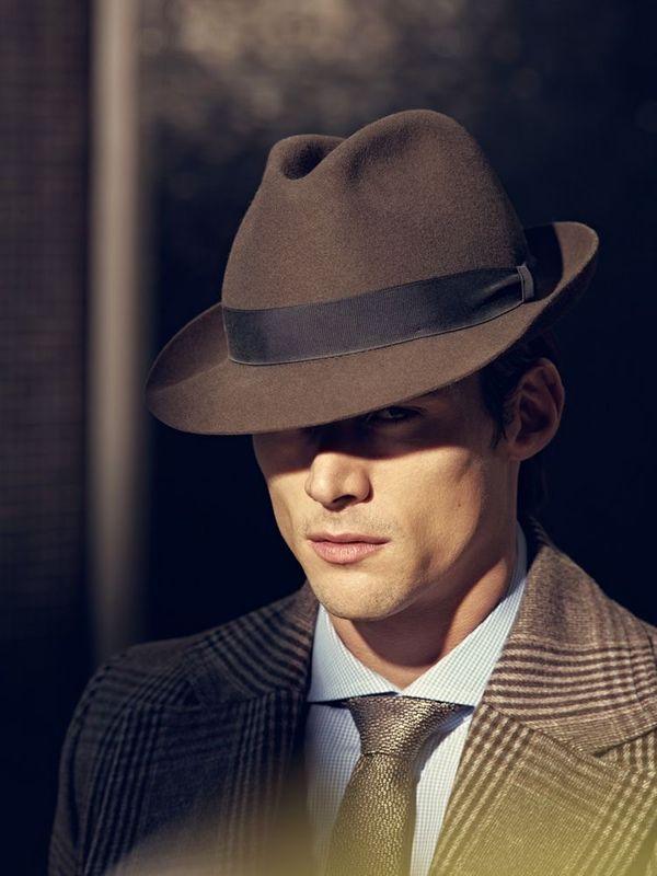 寬簷紳士帽