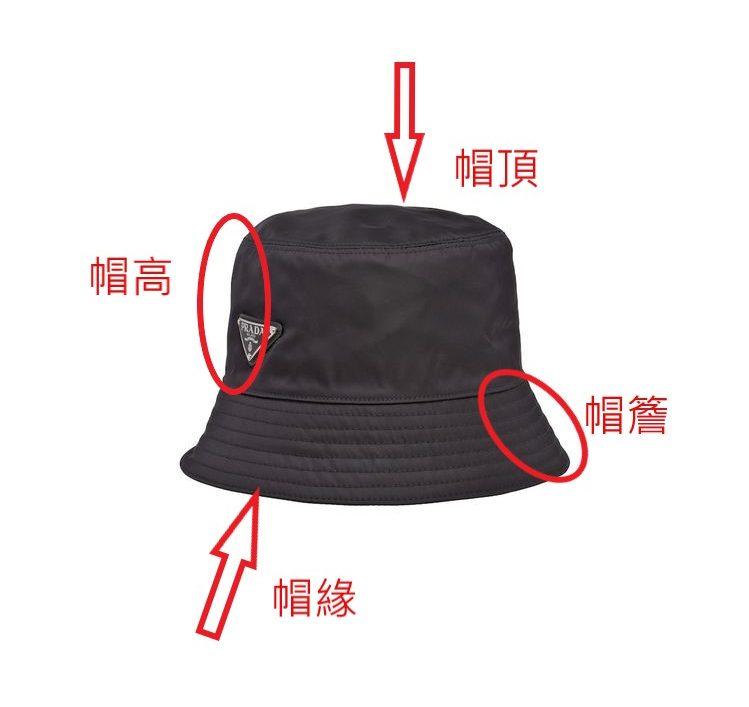 漁夫帽結構名稱