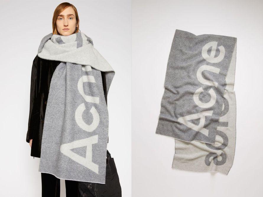 ACNE STUDIOS  Toronty 圍巾
