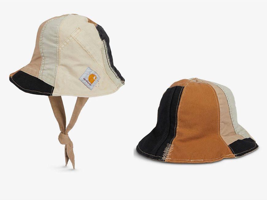 CARHARTT WIP 拼布棉質水桶帽