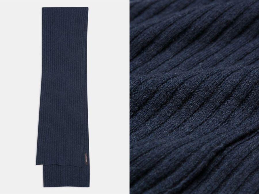 OSCAR JACOBSON 針織羊絨圍巾
