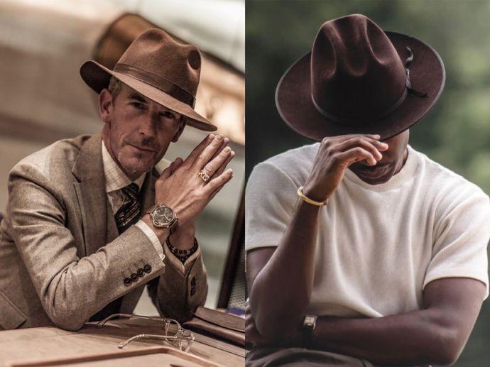 彬彬有禮的紳士帽