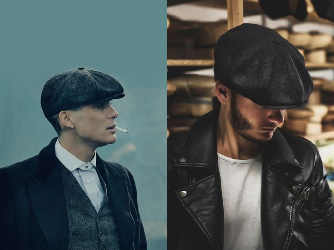 #可復古也可時尚的報童帽
