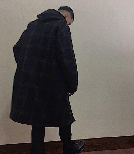 男大衣穿搭