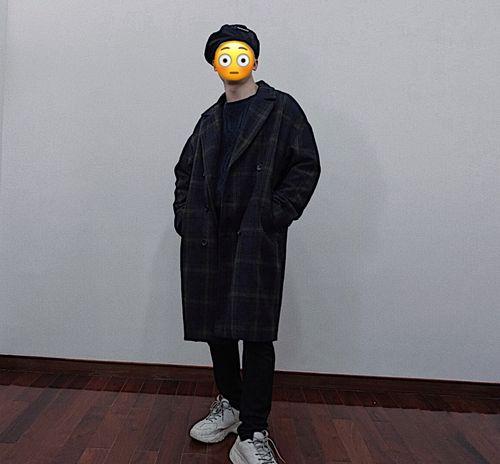 韓系大衣穿搭