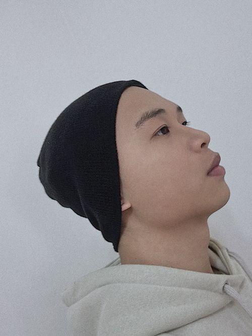 貝克漢戴法:包頭帽