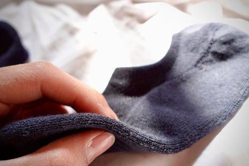 Uniqlo船型襪厚度