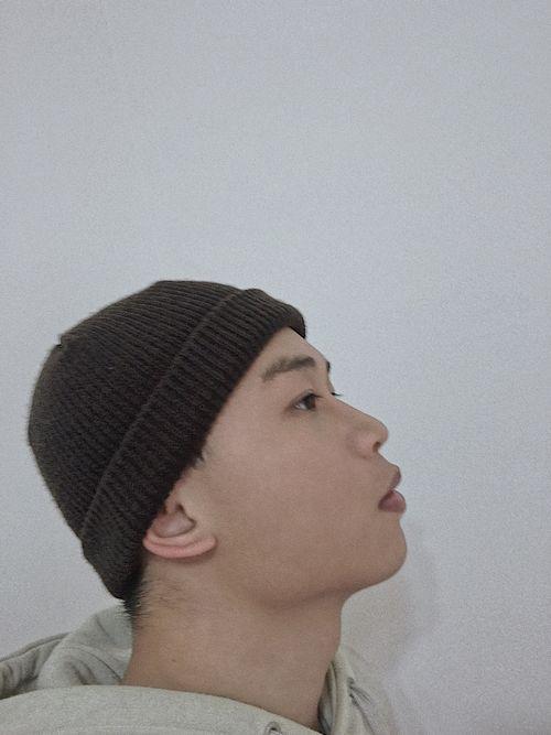 遮耳式戴法