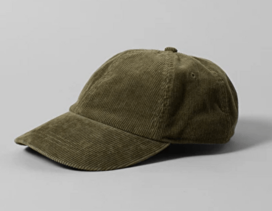 燈芯絨棒球帽