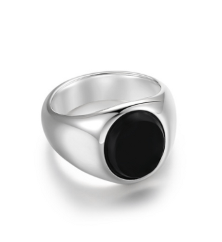 瑪瑙石摩登戒指