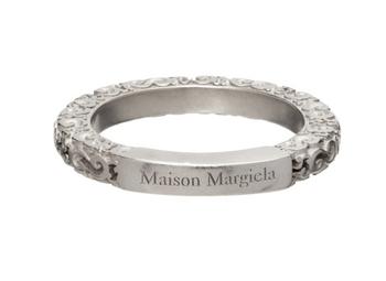 Maison Margiela銀色拼接戒指