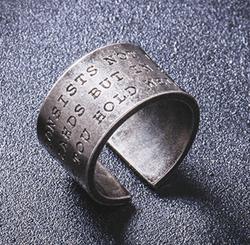 時尚雕刻戒指