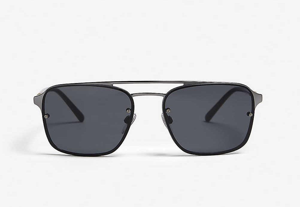 BURBERRY方框太陽眼鏡