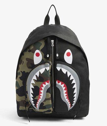 BAPE鯊魚背包