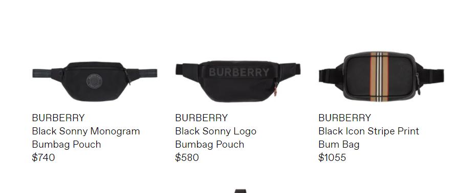 Burberry 腰包