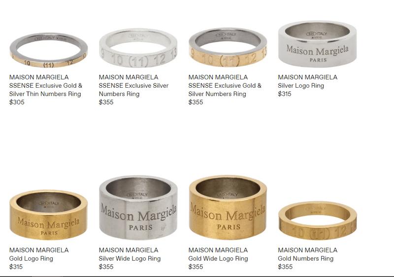Maison Margiela 戒指