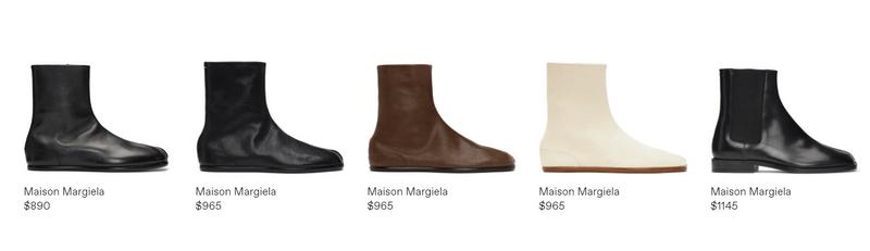 Maison Margiela 分趾鞋