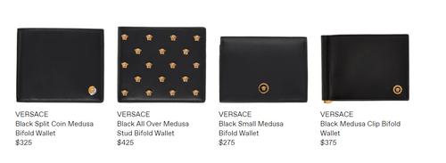 Versace皮夾