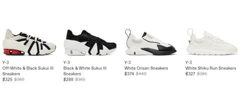 Y-3鞋子