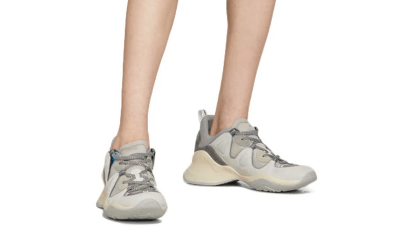 Fendi Grey FFluid Low-Top