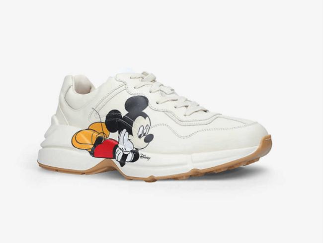 Men's Disney x Gucci Rhyton 老爹鞋