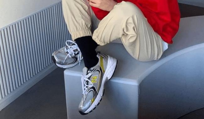 New Balance 530  白黃運動鞋