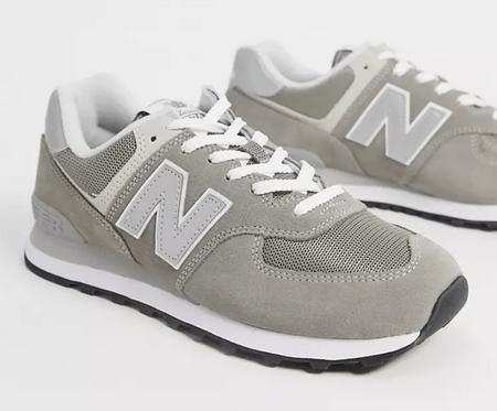 New Balance 574 trainers in dark grey