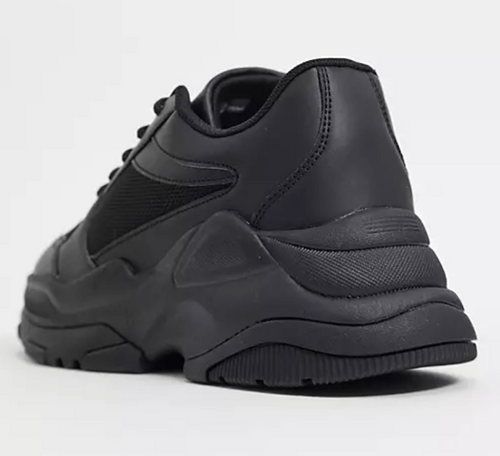 Asos Design 黑色厚底球鞋