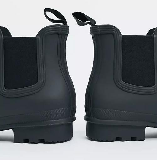 Hunter Original 黑色切爾西靴