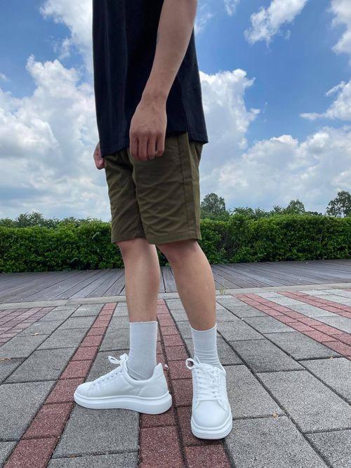 小白鞋穿搭