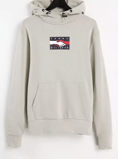 Tommy Hilfiger One Planet 灰色帽T