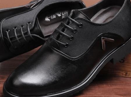 人造皮革皮鞋