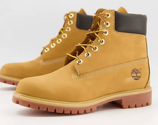 Timberland 黃色馬丁靴