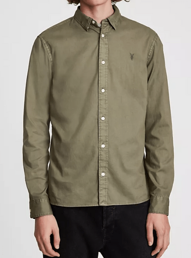 Allsaints 綠色襯衫