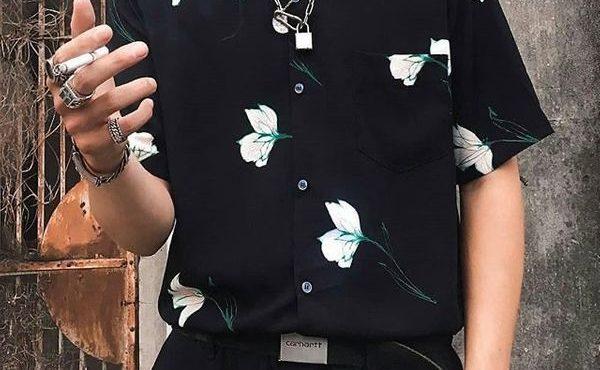 襯衫+西裝褲